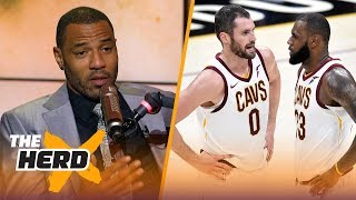 Kenyon Martin on Love being the key to LeBron
