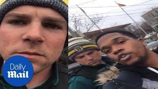 Black man stopped by Boston cops while walking down his street
