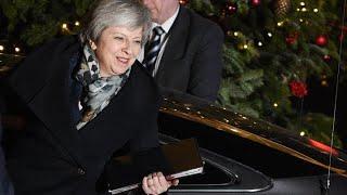 ماي تنجو من اقتراع سحب الثقة من زعامة حزب المحافظين