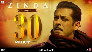 Zinda Song - Bharat  Salman Khan Julius Packiam  Ali Abbas Zafar ft. Vishal Dadlani uploaded on 27 day(s) ago 22375810 views