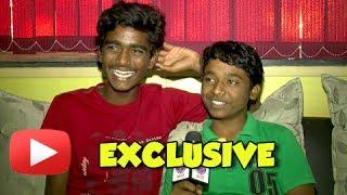 Fandry Kids Somnath Avghade & Suraj Pawar On Their First Marathi Movie - Exclusive Interview!