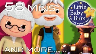 Old Woman Who Lived In A Shoe   Plus Lots More Nursery Rhymes   58 Minutes from LittleBabyBum!