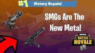 The *NEW* SMG BUFF Is Overpowered! - Fortnite Battle Royale