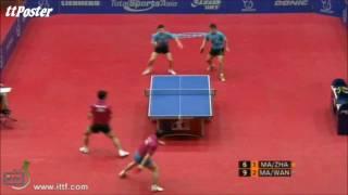 Austrian Open 2011: Ma Long/Wang Hao-Ma Lin/Zhang Jike