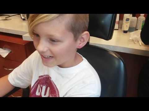 Parents let 10 year old boy get ear pierced.