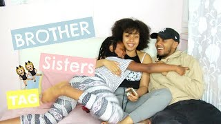 BROTHER AND SISTERS TAG FRANCAIS   HONEYSHAY