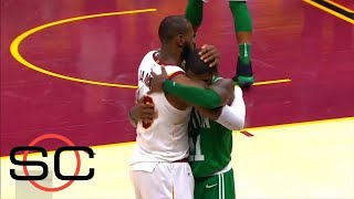 LeBron James and Kyrie Irving reunite for NBA All-Star game | SportsCenter | ESPN