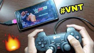 WWE 2K18 ANDROID | HOW TO CONNECT USB GAMEPAD TO ANDROID WITH GAMEPLAY