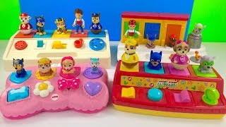 Learn Colors with Mickey Mouse Clubhouse Paw Patrol Pop Up Toys | Fizzy Fun Toys