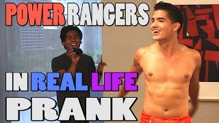 POWER RANGER IN REAL LIFE PRANK!!