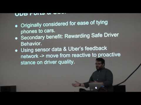 Kevin Novak shares the technology and magic of Uber at Meetup