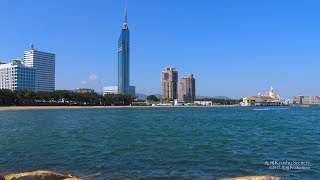 4K シーサイドももち海浜公園 福岡市 Seaside Park Fukuoka JAPAN