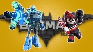The LEGO Batman Movie Game - Mr. Freeze & Harley Quinn Boss Battles - New Update