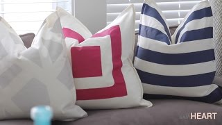 Painting Pillows | withHEART