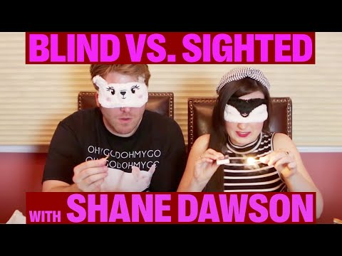BLIND vs. SIGHTED Who Has the Better Senses w Shane Dawson