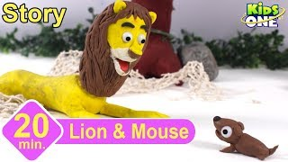 Lion and the Mouse Story | Panchatantra Stories for Children | 3d Animated English Stories