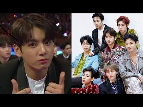 BTS and GOT7 reaction each other
