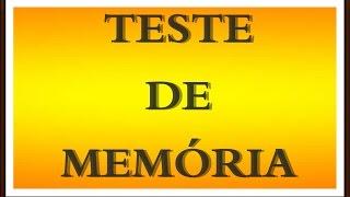 Teste de memória