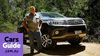 2016 Toyota HiLux SR5 dual cab 4x4 diesel auto review   Top 5 reasons to buy video