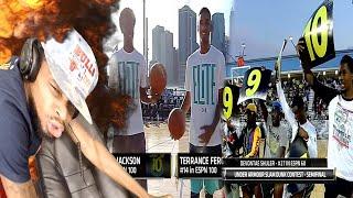 THE GOATS! JOSH JACKSON vs TERRANCE 2K FERGUSON ELITE 24 DUNK CONTEST REACTION!!