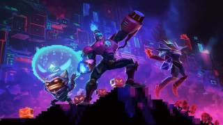 Arcade 2017 Login Screen League of Legends Animation Theme Intro Music Song Official