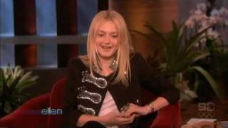 Dakota Fanning's Interview (Ellen)