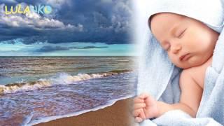 Biały szum wody, szum fal uśpi dziecko