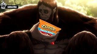 تحشيش هجوم العمالقة الموسم الثاني #1 attack on titan on crack