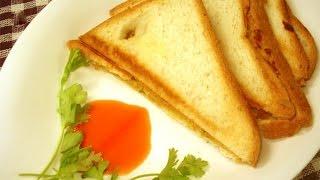 Bread paneer sandwich - Arusuvai kitchen
