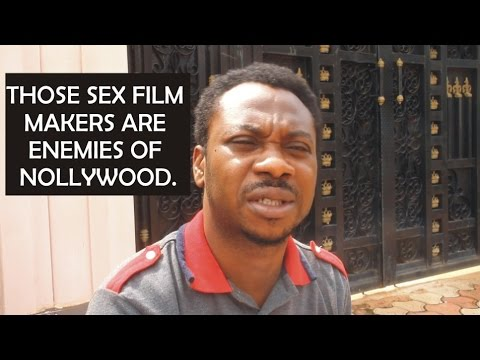 NUDE NOLLYWOOD FILMS: Those sex film makers are enemies of Nollywood...Ik Chibuzor