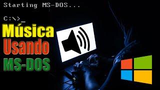Como ouvir música pelo Prompt de comando (MS-DOS)