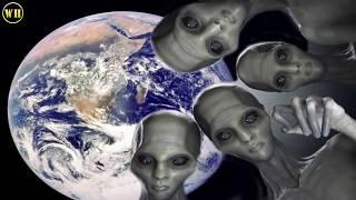 5 مقاطع تجعلنا متأكدين من وجود الكائنات الفضائية  !!
