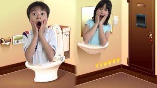 トイレ脱出ゲーム!! 謎を解いて暗号を解読せよ!! アプリ こうくんねみちゃん Toilet Escape Games app Washroom