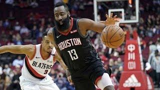 CP3 Triple Double vs Blazers! Harden 29 Points! 2018-19 NBA Season