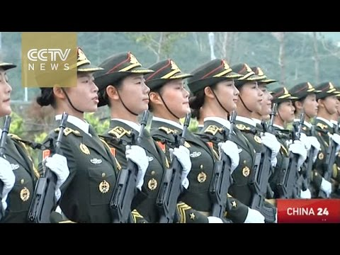 watch An exclusive glimpse into the training site for the Sept 3 military parade