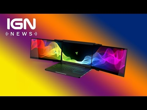 Razer Introduces Insane Triple Monitor Gaming Laptop IGN News