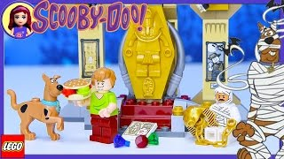 LEGO Scooby Doo Mummy Museum Mystery Build Review Silly Play - Kids Toys