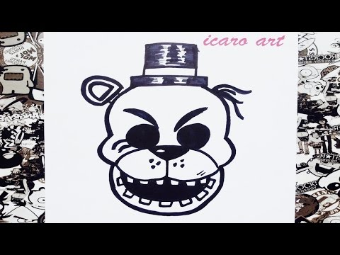 Xxx Mp4 Como Dibujar A Golden Freddy Paso A Paso How To Draw Golden Freddy Step By Step 3gp Sex