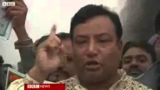 Rubber bullets and tear gas at Bangladesh protests