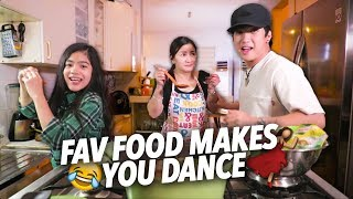 When Your Fav Food Makes You Dance | Ranz and Niana