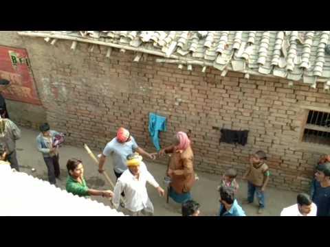 Shahpur me khuleaam gunda gardi