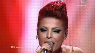 Aurela Gace - Feel The Passion Albania Eurovision 2011 FIRST SEMI-FINAL