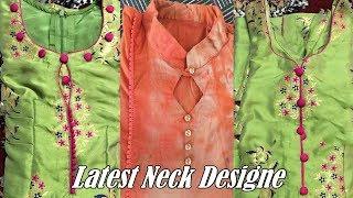 Beautiful Neck Design Patterns For Suit | Simple & Stylish Neck Design For Kameez/Kurti/Suit