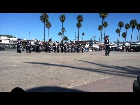 Banda de guerra marineros de ensenada Municipal 2012