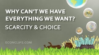 🚗 🏡 🏖 Why Can't We Have Everything We Want? | Scarcity and Choice