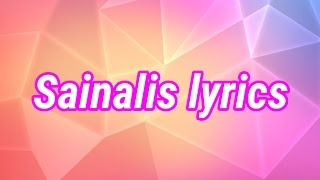 Sainalis Lyric Song