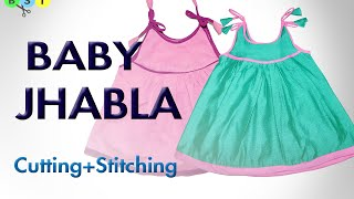 Baby Jhabla (Frock)- Cutting and Stitching