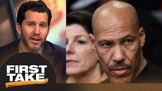 Will Cain on LaVar Ball: He is a carnival-barking snake oil salesman and a fraud   First Take   ESPN