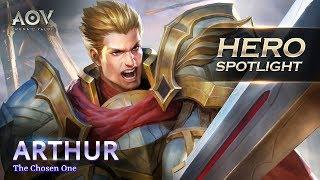 Garena AOV - Hero Spotlight: Arthur