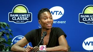 Venus Williams Interview at Bank of the West Classic